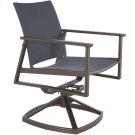Flex Comfort Swivel Rocker Dining Arm Chair Product Image