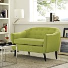 Wit Upholstered Fabric Loveseat in Wheatgrass Product Image