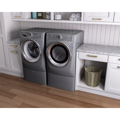 Front Load Perfect Steam Electric Dryer with Instant Refresh and 9 cycles - 8.0 Cu. Ft.