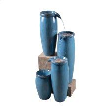 Vessel - Indoor/Outdoor Floor Fountain