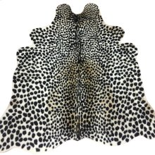LEO HIDE RUG  Faux Hair on Hide- Cheetah