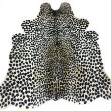 LEO HIDE RUG  Faux Hair on Hide- Cheetah