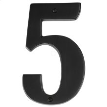 House Numbers AP5-7 - Bronze
