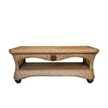 Coffee Table, Available in Carmelo Finish Only.