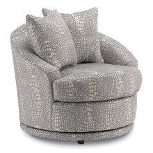 ALANNA Swivel Barrel Chair