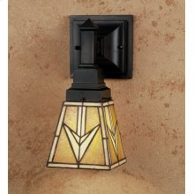 """5""""W X 6""""H 1 LT MISSION SCONCE-7"""" VALENCIA MISSION/2""""RING"""