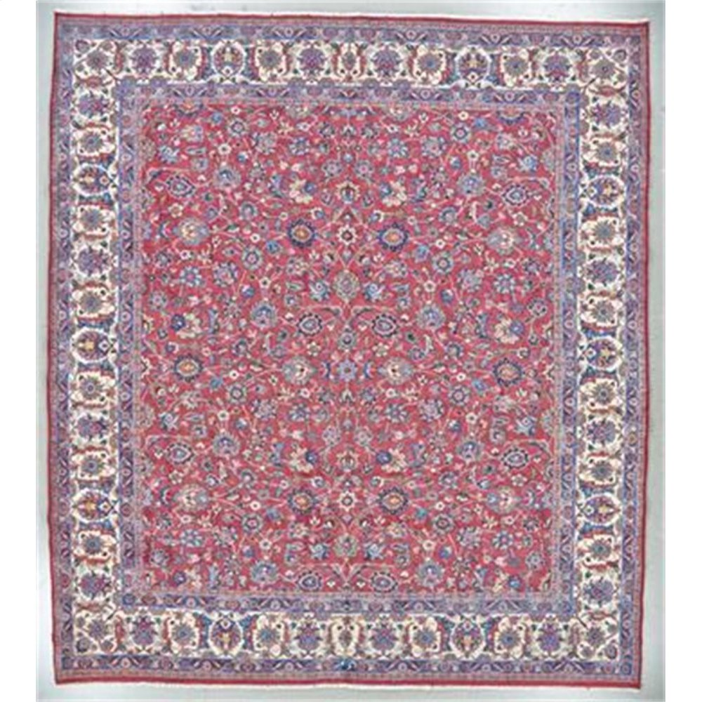 """PERSIAN 000033168 IN RED IVORY 11'-3"""" x 12'-7"""""""