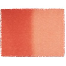 """Life Styles Md201 Coral 50"""" X 60"""" Throw Blanket"""