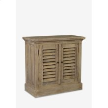 Promenade Shutter Cabinet 2 door..(32.75X15.75X31.5)..