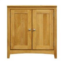 Solid Alder Modular Home Office Cabinet