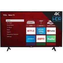 "TCL 43"" Class 4-Series 4K UHD HDR Roku Smart TV - 43S403"