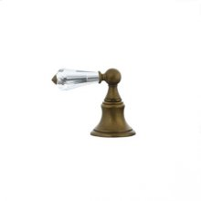 Highlands - Deck Diverter Trim - Unlacquered Brass