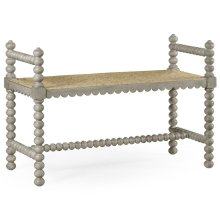Bellingham Country Grey Single Bench