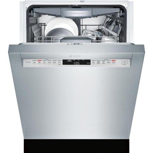 24' Recessed Handle Dishwasher 800 Plus Series- Stainless steel