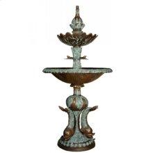 Three fish fountain