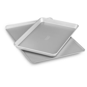 """Nonstick 10""""x15"""" Jelly Roll Pan and 13""""x18"""" Cookie Sheet Set - Other"""