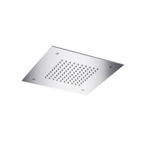 "recessed, square shower head 11 3/4""x11 3/4"""