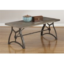 Rectangular Cocktail Table & End Table Set