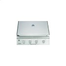 """Heritage 36"""" Outdoor Grill, Stainless Steel, Liquid Propane Product Image"""