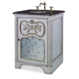 Laurel Petite Sink Chest - White Product Image