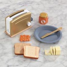 Modern Metallics Toaster Set