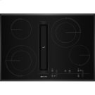 """30"""" JX3™ Electric Downdraft Cooktop with Glass-Touch Electronic Controls, Black Product Image"""