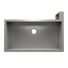 "SocialCorner® 005305 - undermount with apron front stainless steel Kitchen sink , 35"" × 18"" × 10"" Right corner"