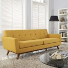 Engage Upholstered Fabric Sofa in Citrus Product Image