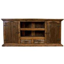 Old Wood TV Credenza