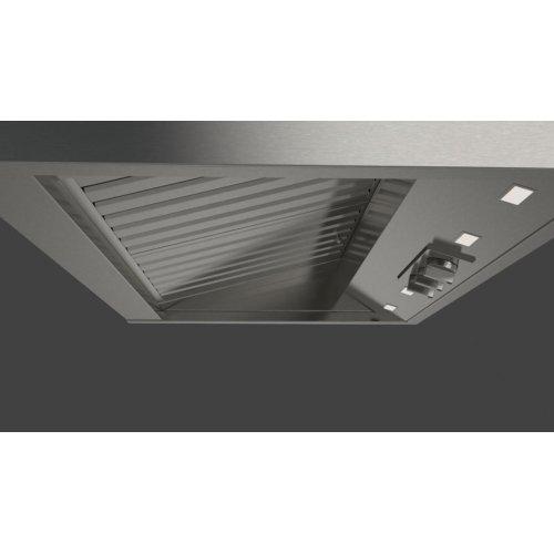 """36"""" Pro Wall-mount Hood (2 Fan - Knobs) - Stainless Steel"""
