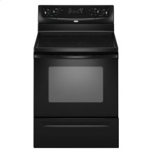 30-inch Freestanding Electric Range with Steam Clean (This is a Stock Photo, actual unit (s) appearance may contain cosmetic blemishes. Please call store if you would like actual pictures). This unit carries our 6 month warranty, MANUFACTURER WARRANTY and REBATE NOT VALID with this item. ISI 34376