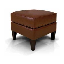 Collegedale Leather Ottoman 6207LS