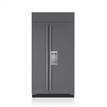 """42"""" Classic Side-by-Side Refrigerator/Freezer with Dispenser - Panel Ready"""