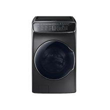 6.0 cu. ft. FlexWash Washer in Black Stainless Steel