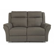Pike Fabric Power Reclining Loveseat with Power Headrests
