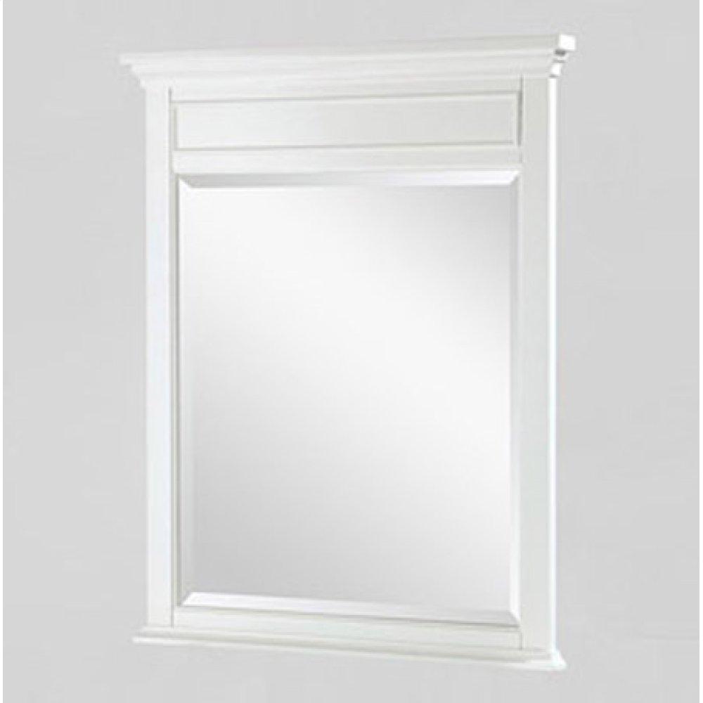 "Framingham 28"" Mirror - Polar White"