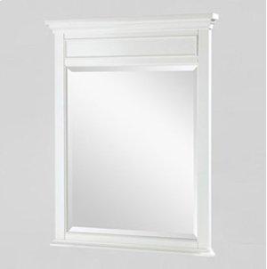 "Framingham 28"" Mirror - Polar White Product Image"