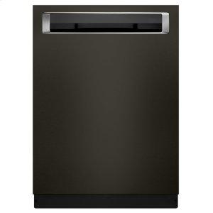 46 DBA Dishwasher with Third Level Rack and PrintShield Finish, Pocket Handle - Black Stainless Steel with PrintShield™ Finish Product Image