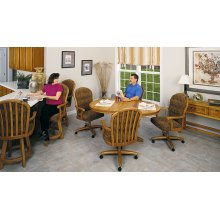 Table Base: Pedestal (wood)