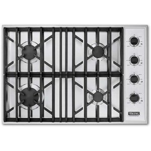 "Black 30"" Gas Cooktop - VGSU (30"" wide cooktops)"