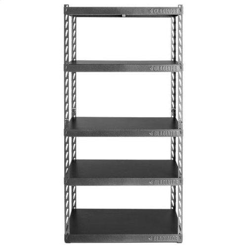 "36"" Wide EZ Connect Rack with Five 18"" Deep Shelves"
