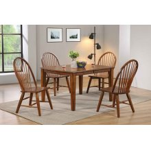 """Dining Table W/18"""" Self-storing Leaf"""