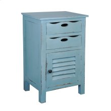CC-CHE512LD-BB  Beach Blue Accent Table