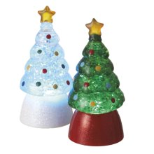 Lighted LED Tree Mini Shimmer (2 asstd)