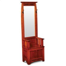 Aspen Hall Seat with Mirror and Inlay