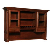 Savannah Hutch Top for Desk or Credenza