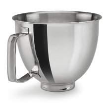 Stainless Steel Bowl with Handle for 3.3L Mini Tilt-Head Stand Mixer - Other