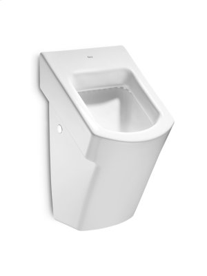 White Vitreous china urinal without cover and back inlet Product Image