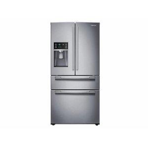 25 cu. ft. 4-Door French Door Refrigerator in Stainless Steel Product Image