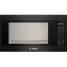 "500 Series, 2.1 Cu Ft Built-in Microwave plus 30"" Trim Kit, Black"